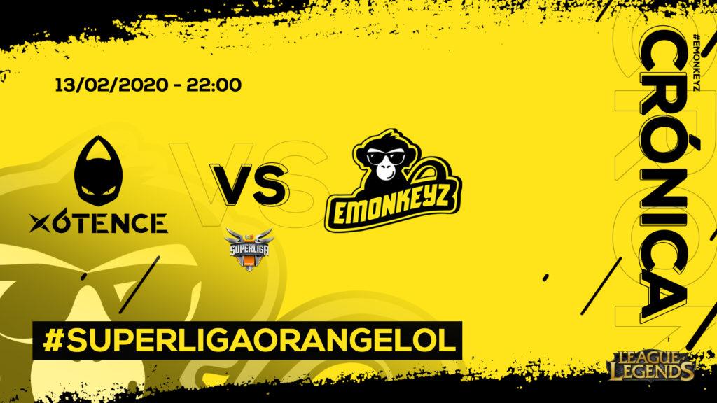 x6tence vs. eMonkeyz | #SuperligaOrangeLoL8