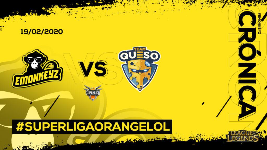 eMonkeyz vs. Telepizza Team Queso | #SuperligaOrangeLoL10