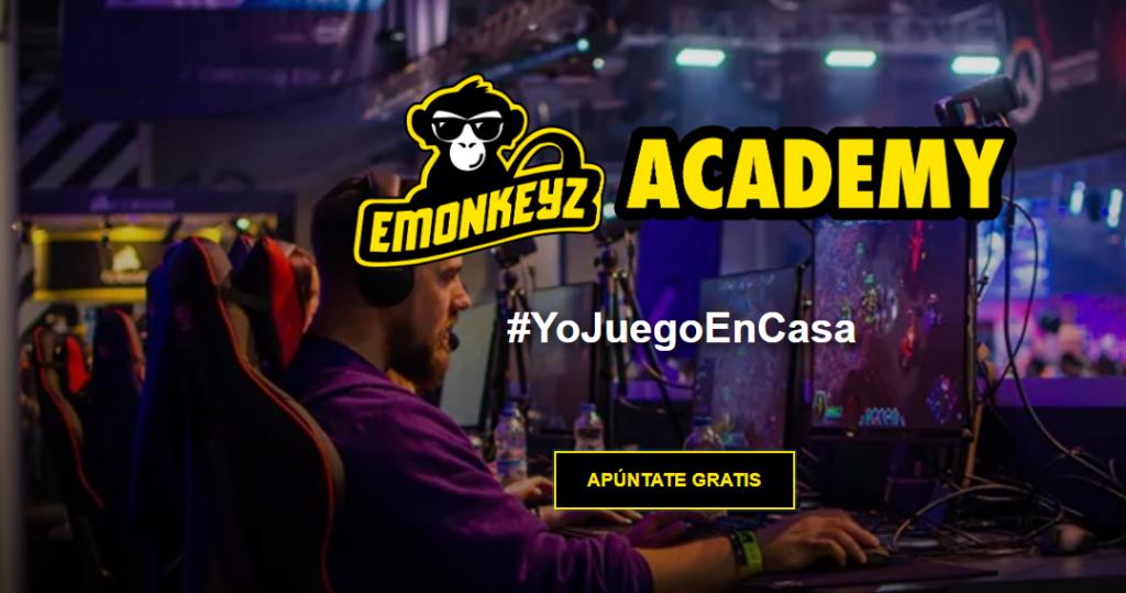 Apúntate al torneo eMonkeyz #YoMeQuedoEnCasa